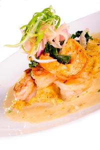 Seafood Appetizer - Shrimp & Grits for Mother's Day
