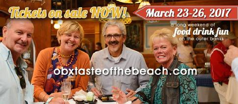 Banner from OBRA for Taste of the Beach!